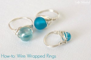 How-to-Wire Wrapped Rings