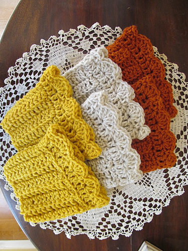 Free Crochet Patterns For Boot Cuffs With Buttons : boot cuff Sowelu Studio